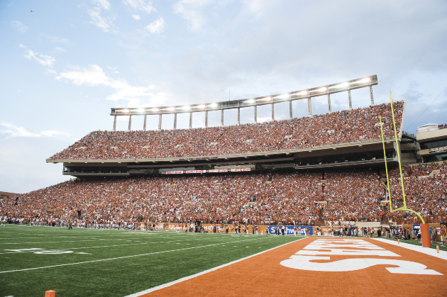 5aa8615970cd The first time the stadium felt special to me—this should be obvious, but  for transparency's sake, I mean Darrell K Royal-Texas Memorial Stadium, ...