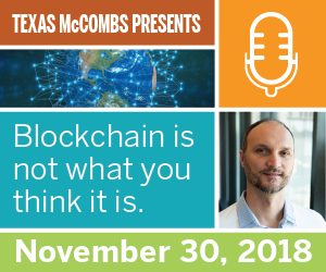 McCombs School of Business-Blockchain