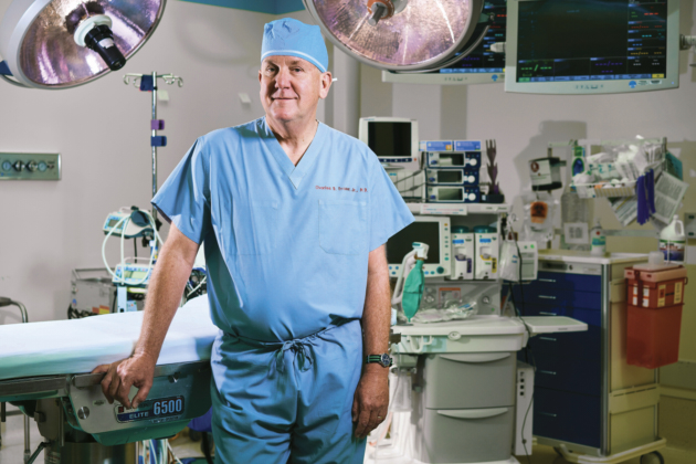 World-Renowned Pediatric Surgeon Charles Fraser Comes Home