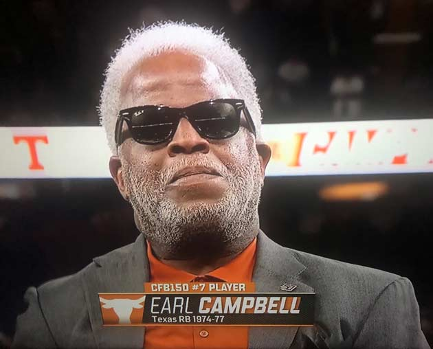 Football 7 College Campbell Named No. Earl  Greatest ESPN's